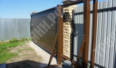 Распашные автоматические ворота установка для дома или коттеджа Нижний Новгород