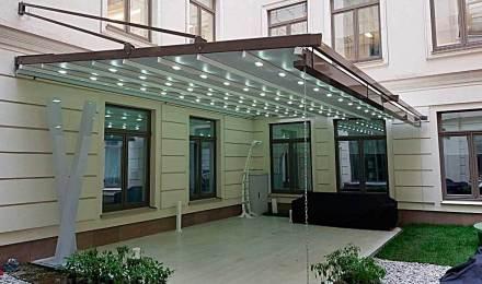 Навесы перголы - продажа установка в Нижнем Новгороде и области